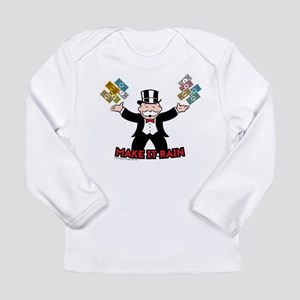Monopoly - Make It Rain Long Sleeve Infant T-Shirt