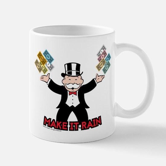 Monopoly - Make It Rain Small Mug