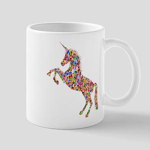 Prismatic Rainbow Unicorn Mugs
