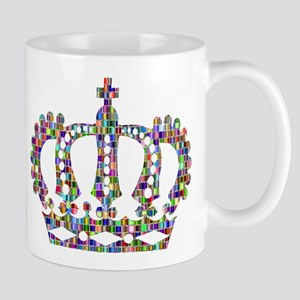 Royal Rainbow Crown Mugs