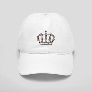 68336d2fdab Yellow Queen Black Cap24434609 Hats - CafePress