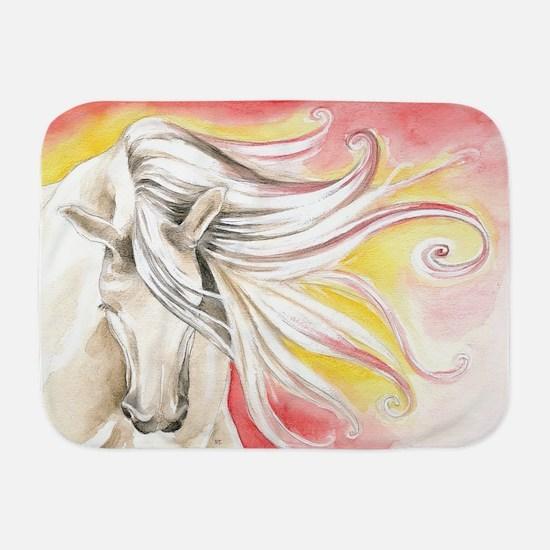 Spanish Sun Horse Baby Blanket