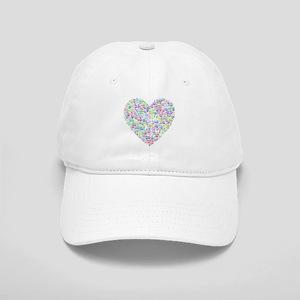 Rainbow Heart of Peace Cap