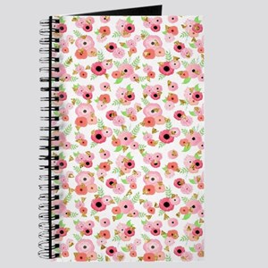 Modern Watercolor Floral Journal