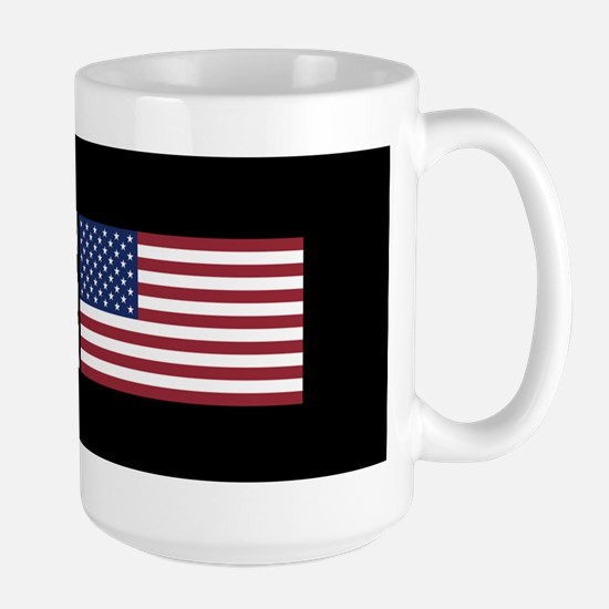Farmer: All-American (Black) Large Mug