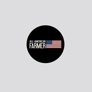 Farmer: All-American (Black) Mini Button