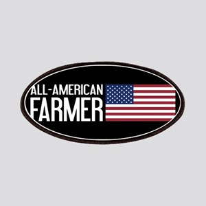 Farmer: All-American (Black) Patch