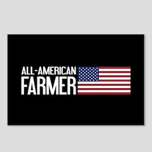 Farmer: All-American (Bla Postcards (Package of 8)