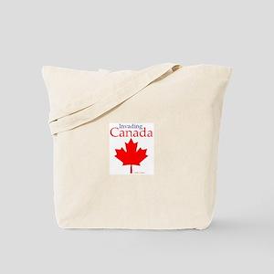 Invading Canada Tote Bag