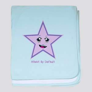 Atheist By Default baby blanket