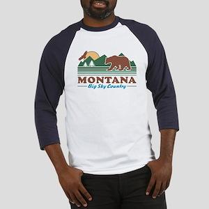Montana Big Sky Country Baseball Jersey