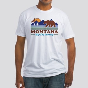 Montana Big Sky Country Fitted T-Shirt