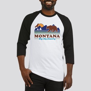 Montana Big Sky Country Baseball Jersey