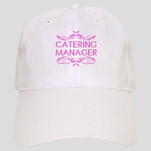 Catering: Catering Manager (Pink) Cap
