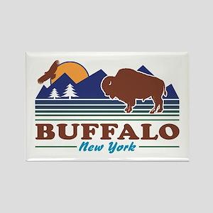 Buffalo New York Rectangle Magnet