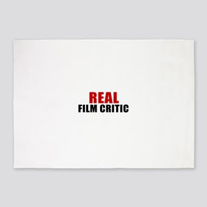 Real Film critic 5'x7'Area Rug
