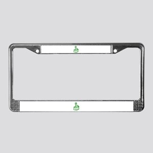 The Bird License Plate Frame