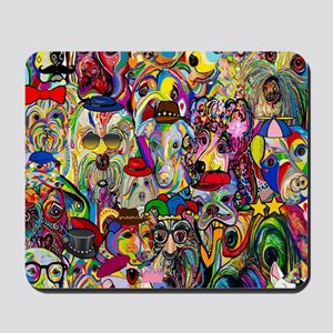 Dogs Dogs Dogs 2 Doggy Dress Up! Mousepad