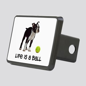 Boston Terrier Life Rectangular Hitch Cover