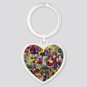 Dogs Dogs Dogs 2 Doggy Dress Up! Keychains
