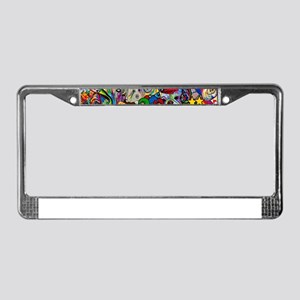 Dogs Dogs Dogs 2 Doggy Dress U License Plate Frame
