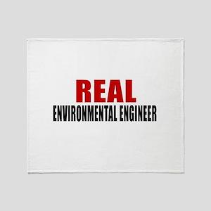 Real Environmental engineer Throw Blanket