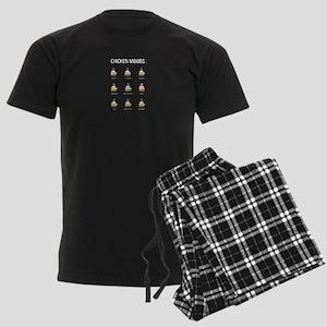 Chicken Moods Pajamas