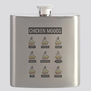 Chicken Moods Flask