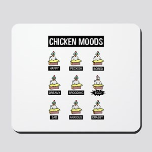 Chicken Moods Mousepad