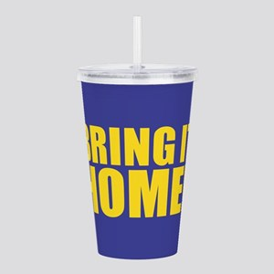 Bring it Home - Purple Acrylic Double-wall Tumbler