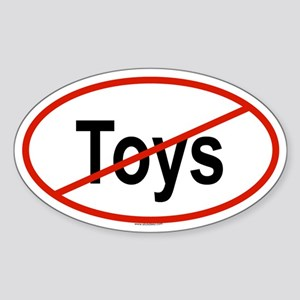 TOYS Oval Sticker