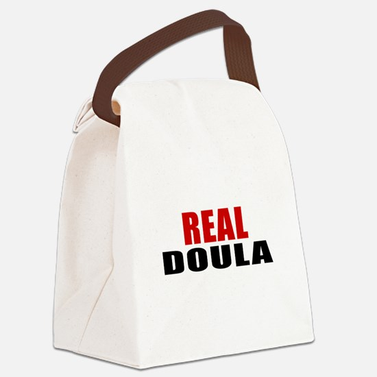 Real Doula Canvas Lunch Bag