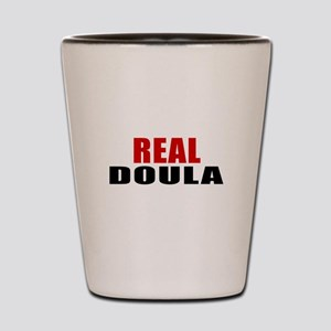 Real Doula Shot Glass