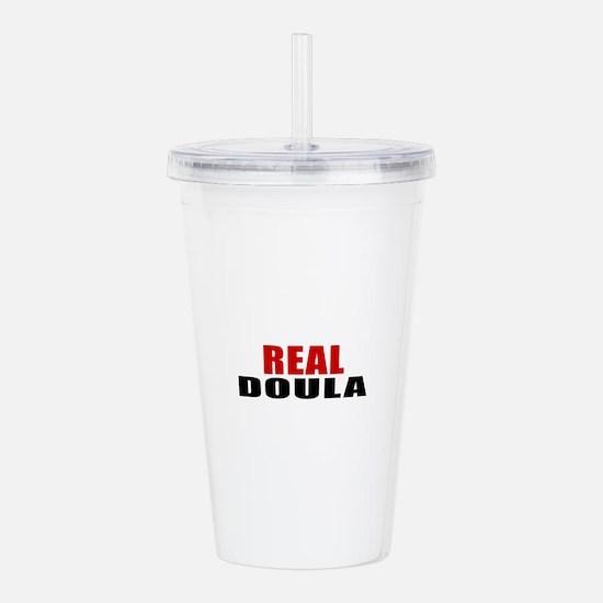 Real Doula Acrylic Double-wall Tumbler