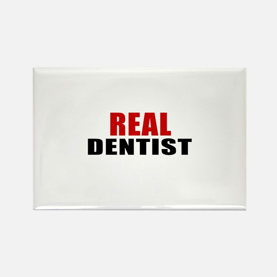 Real Dentist Rectangle Magnet