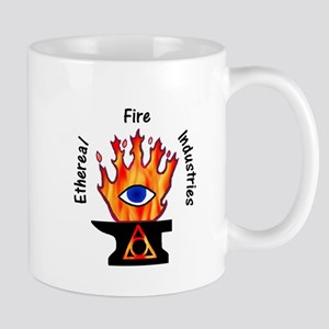 Ethereal Fire Mugs