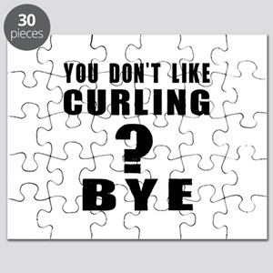 You Do Not Like Curling ? Bye Puzzle