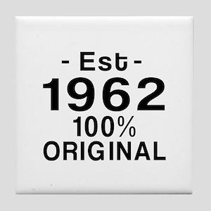 Est.Since 1962 Tile Coaster