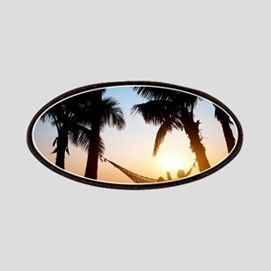 paradise palms vacation summer chill relax Patch