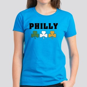 Philly Irish Shamrocks Women's Dark T-Shirt