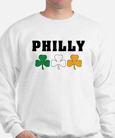 Philly Irish Shamrocks Sweatshirt