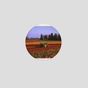 Field of Flowers Mini Button