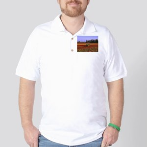 Field of Flowers Golf Shirt
