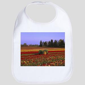 Field of Flowers Bib