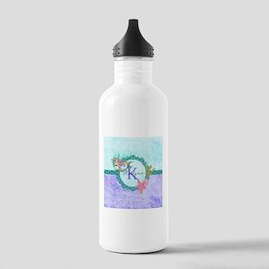 Personalized Monogram Mermaid Water Bottle