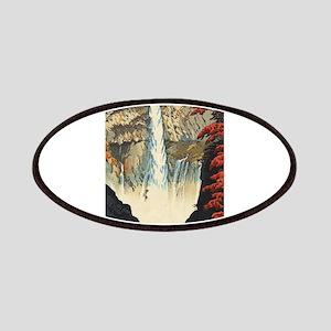 """Shiro Kasamatsu - """"Kegon Waterfall, Nik Patch"""