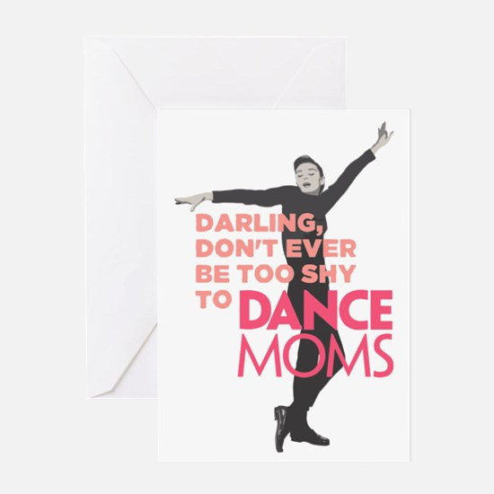 Cute Famous ballet dancers Greeting Card