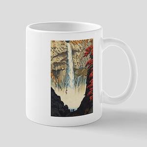 "Shiro Kasamatsu - ""Kegon Waterfall, Nikk Mugs"