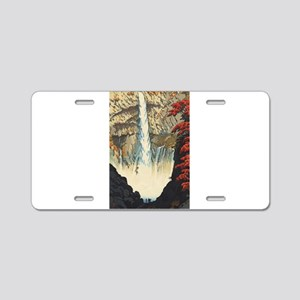 "Shiro Kasamatsu - ""Keg Aluminum License Plate"