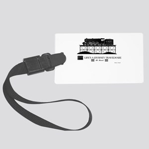 Train Large Luggage Tag